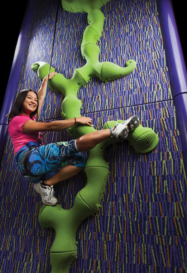 Clip 'n Climb Dunedin Triffid Climbing Wall